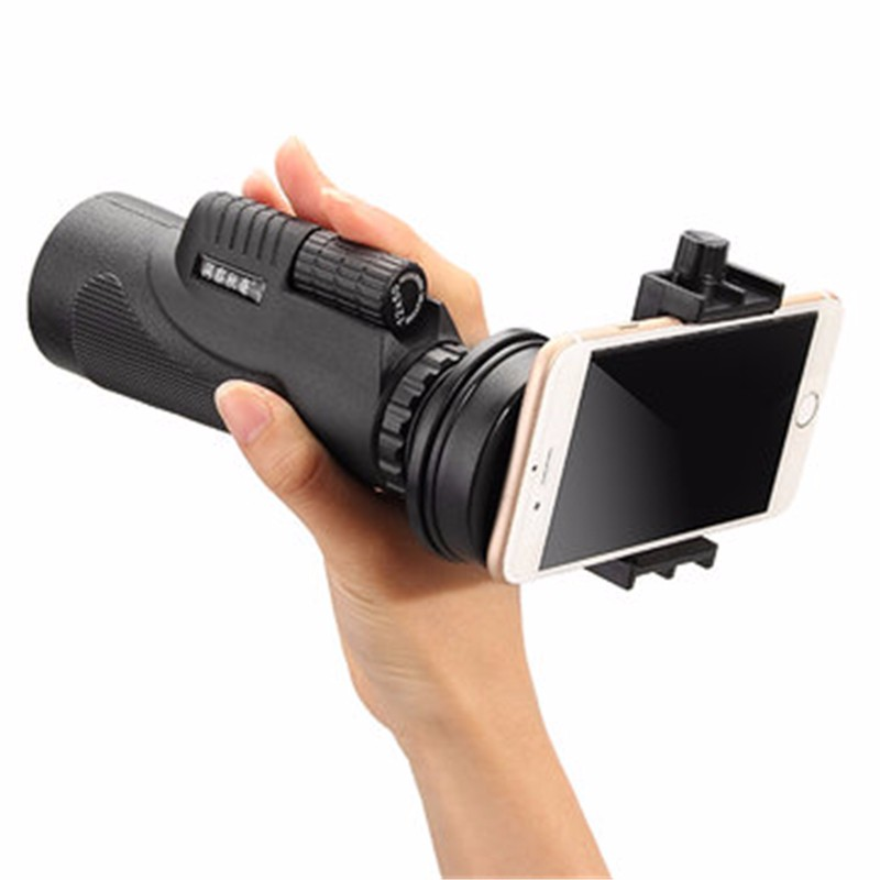 Universal Under 6 Inch Mobile Phone Telescope Camera Lens Holder Connecting 22-48mm Eyepiece For Samsung For iPhone Cell Phone