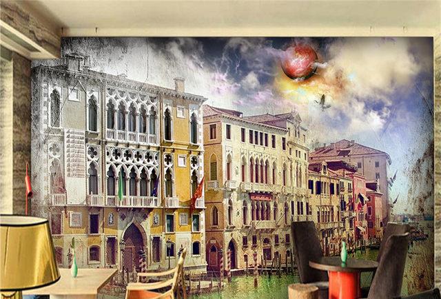Online Shop Custom HD Photo Wallpaper Abstract 3D Wall Murals Gothic