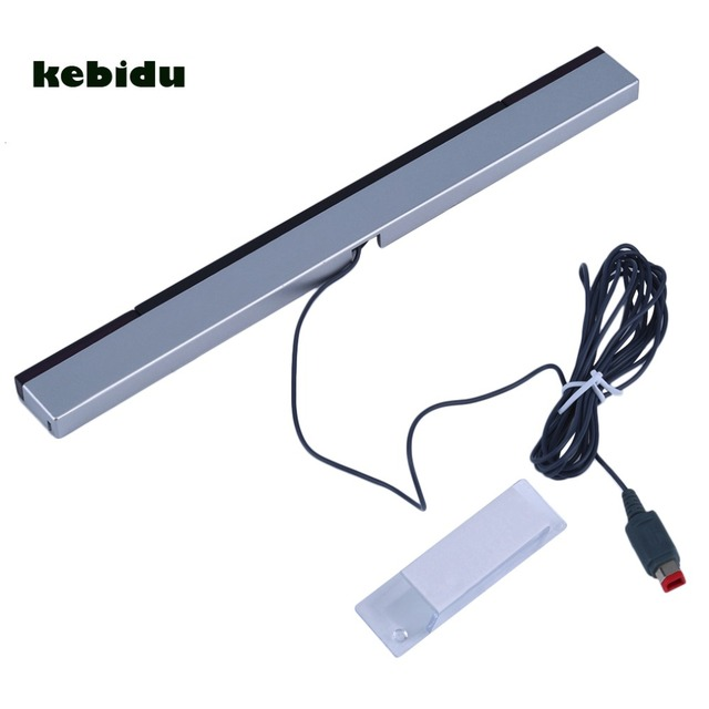 kebidu New Wired Infrared IR Signal Ray Sensor Bar/Receiver for Nitendo Wii Remote