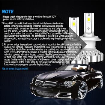 2X9012 R8 LED Voiture Phare Ampoule 40 W 4000LM 9 V-36 V étanche IP68 6000 K Blanc Froid 200 M Gamme De Lumière Pour Camion SUV HID RV