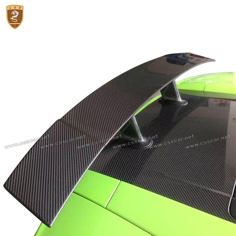 Углеродного волокна задний спойлер задний GT Крыло для Lamborghini Gallardo LP550 LP560 LP570 2004 2005 2006 2007 2008 2009 2010 2011 2012
