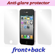 3pc front 3pc back HD screen protector for iPhone 4 4S clear screen protective film screen