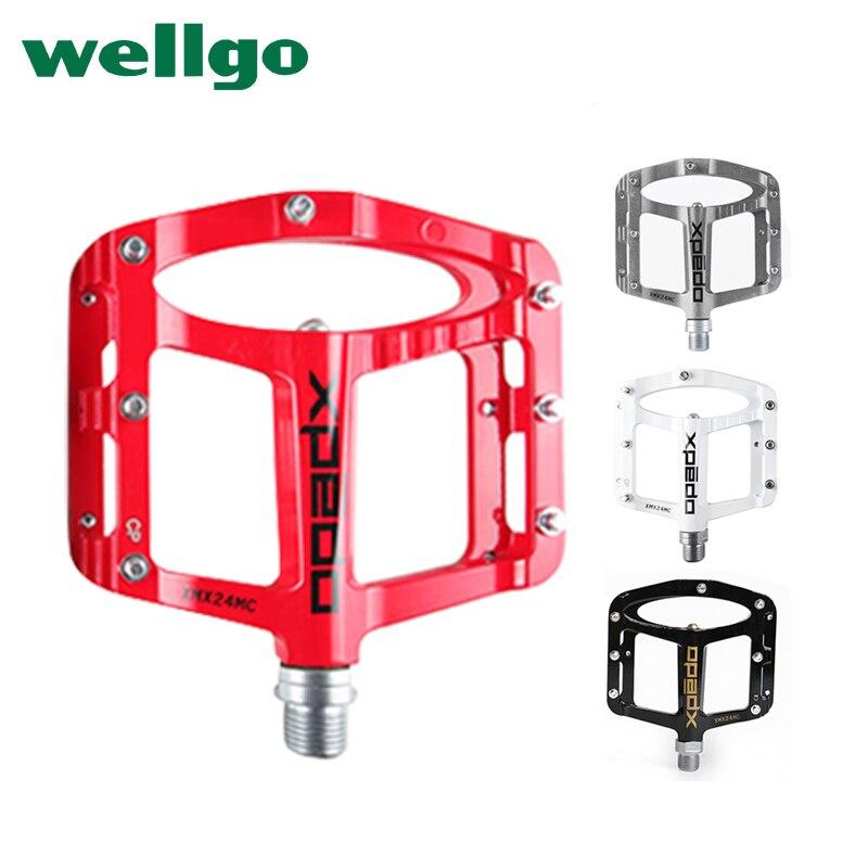 все цены на Wellgo Xpedo SPRY xmx24mc ultra-light CNC magnesium alloy pedal/ Titanium Axie MTB Bike Bicycle Pedal онлайн