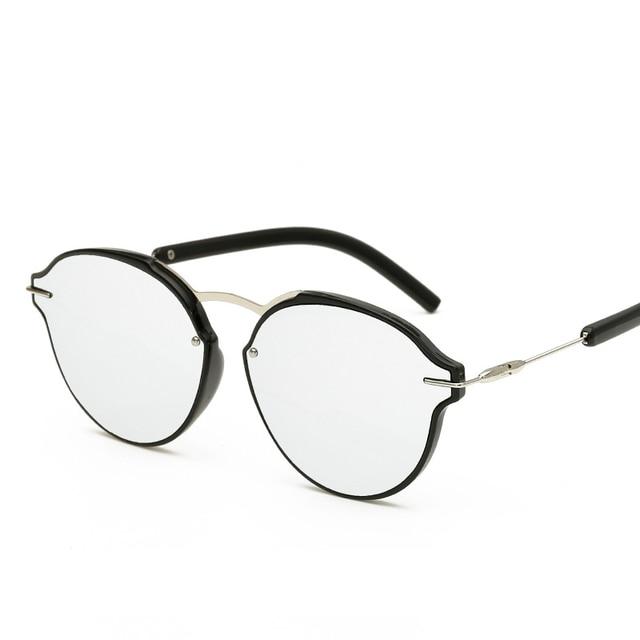 ea878635c1d Free shipping New Fashion glasses Women Girls Fashion lady Beach glasses  Oval colours Sunglasses summer 7 colors glasses