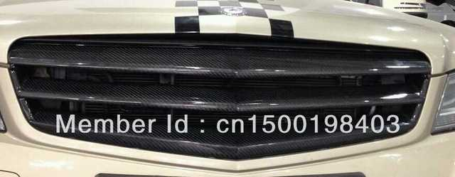 Racing grills/Mesh Grille/For Mercedes-Benz C180 C200 C230 C250 C280 C300 C350 NO AMG/Carbon Fiber Materials/W204/