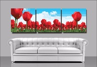 Frameless Picture DIY Painting By Numbers 3 Piece Wall Pictures Home Decor Coloring By Numbers For