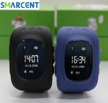 Q50 Q50 GPS Reloj Teléfono Inteligente bebé Niños Niños Niños niños Reloj GSM GPRS GPS Perseguidor Del Localizador Anti-perdida Smartwatch reloj