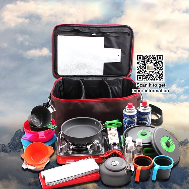 Outdoor Camping Hiking Lunch Basket Picnic Bags Portable Picnic Bag Food Storage Basket Handbags Lunch Box