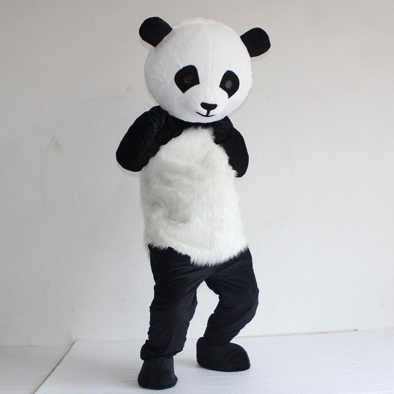 Chinese Reuzenpanda Mascot Kostuum Groothandel Nieuwe Versie Kerst Cosplay Mascot Kostuum Cosplay Thema Mascotte Carnaval Jurk Verschillende Stijlen