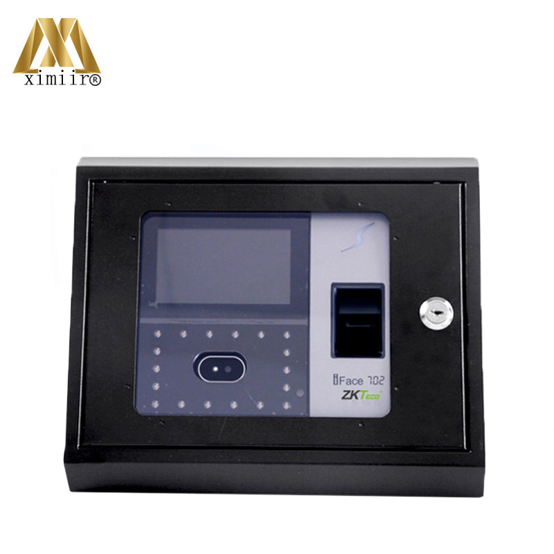 New Model Iface302/iface502/iface702/iface802 Face Time Attendance Protect Box Metal Box With Key Access Control Protect BoxNew Model Iface302/iface502/iface702/iface802 Face Time Attendance Protect Box Metal Box With Key Access Control Protect Box
