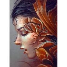 Yikee Алмазная картина певица набор мозаика полностью квадратная