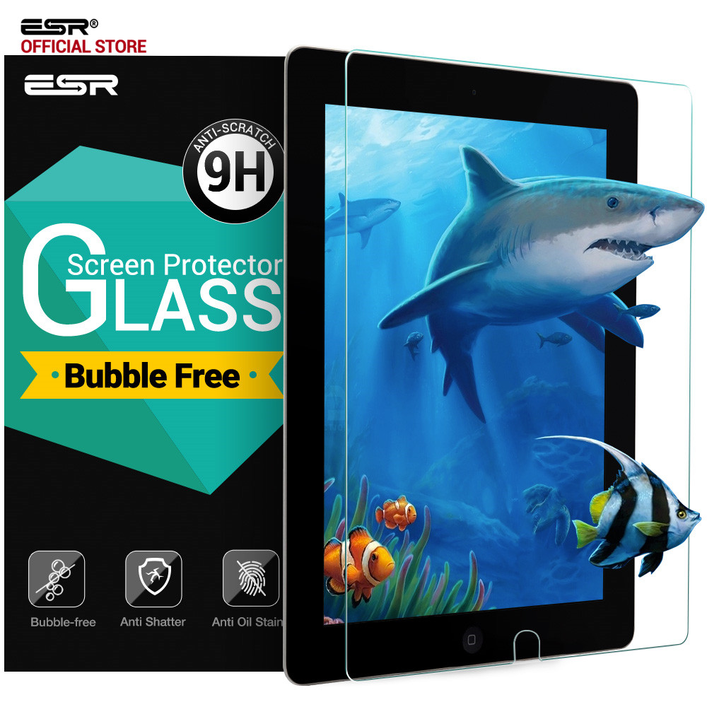 ESR Screen Protector for iPad Pro 105 Tempered Glass 9H Anti-Scratch Screen Protector with Install Kit for IPad Pro 105 Glass