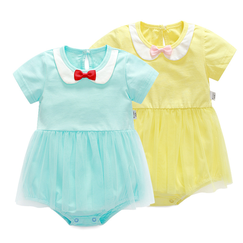 Baby Dress Summer Baby Girl Clothes 2017 Baby Rompers Fashion Newborn Baby Clothes Roupas Bebe Infant Jumpsuits Kids Clothes