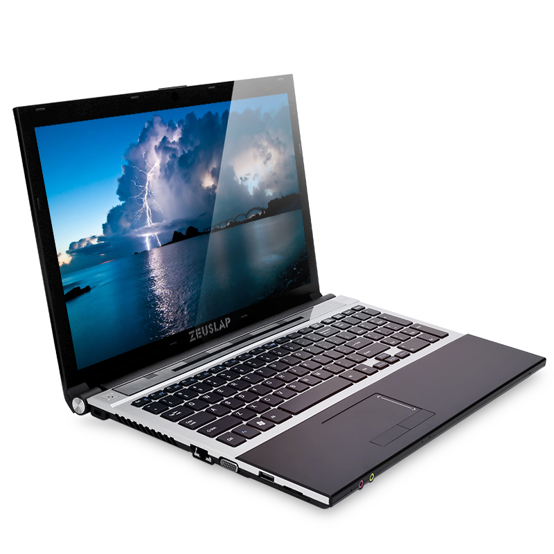 15.6inch Intel I7 8GB Ram+256GB SSD+2TB HDD 1920x1080P Dual Disks DVD Rom WIFI Bluetooth Windows 10 Notebook PC Laptop Computer