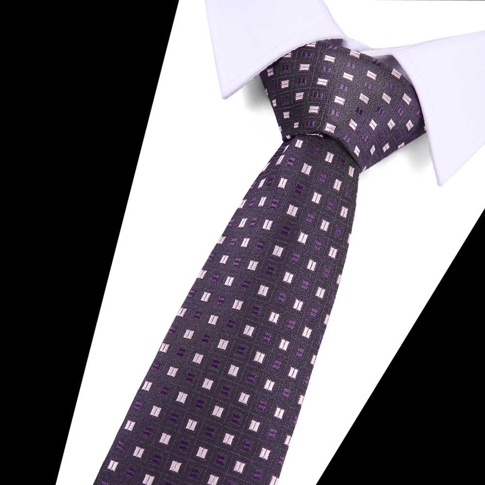 7.5 ซม. ผูกใหม่ยี่ห้อ Man แฟชั่น Dot เน็คไทลาย Hombre Gravata Tie ธุรกิจคลาสสิกสีเขียว Tie สำหรับชาย