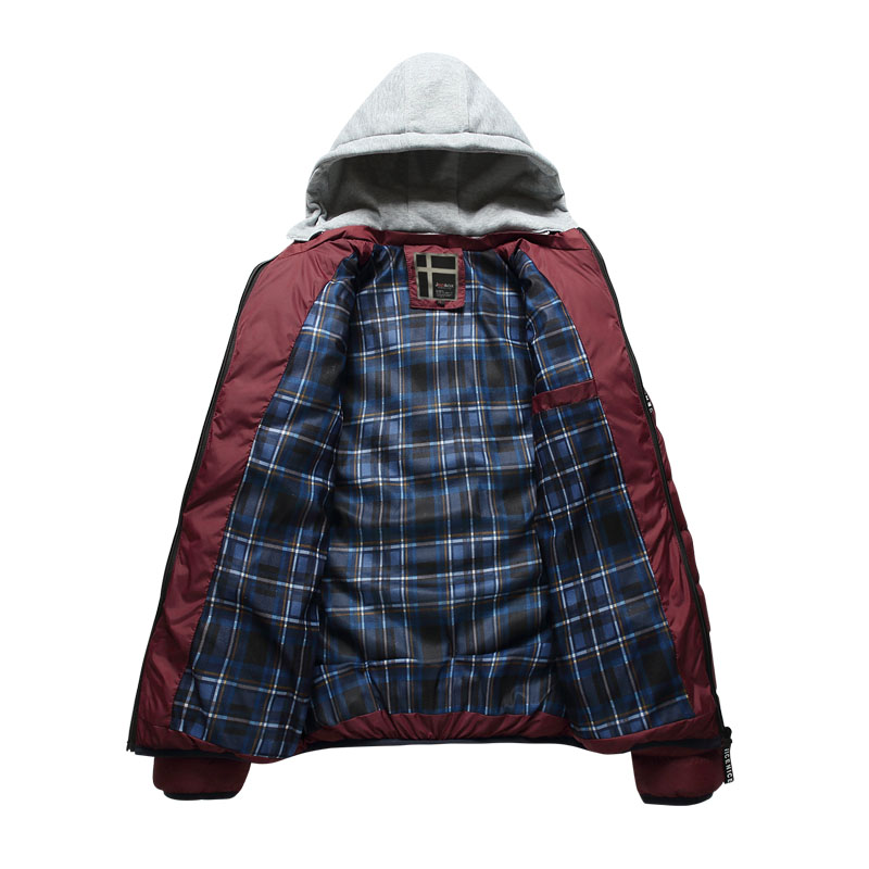 JOOBOX Marke 2017 Polyester Winter Jacken Und Mäntel Dicke Warme - Herrenbekleidung - Foto 3
