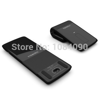 5f877eb0d24 Micro gentry recon touch folding 2.4 G laser wise black/white rechargeable  wireless computer mouse