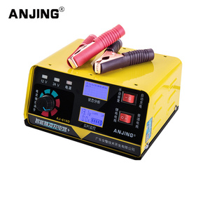 Image 2 - 12V/24V 6 200AH/6 400AH Car Battery Charger Automatic Intelligent Repair Type Universal battery charger of motorcycle battery
