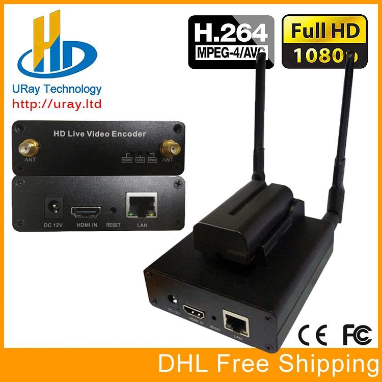 H.264 Wireless HDMI Video Encoder streaming encocder HDMI Transmitter live Broadcast encoder H264 wireless iptv encoder