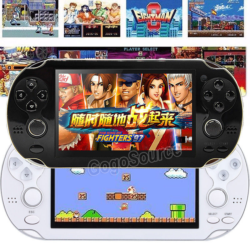 4 3 8GB 32Bit more 300 Games Built In Portable Handheld MP4 MP5 Video Game Console