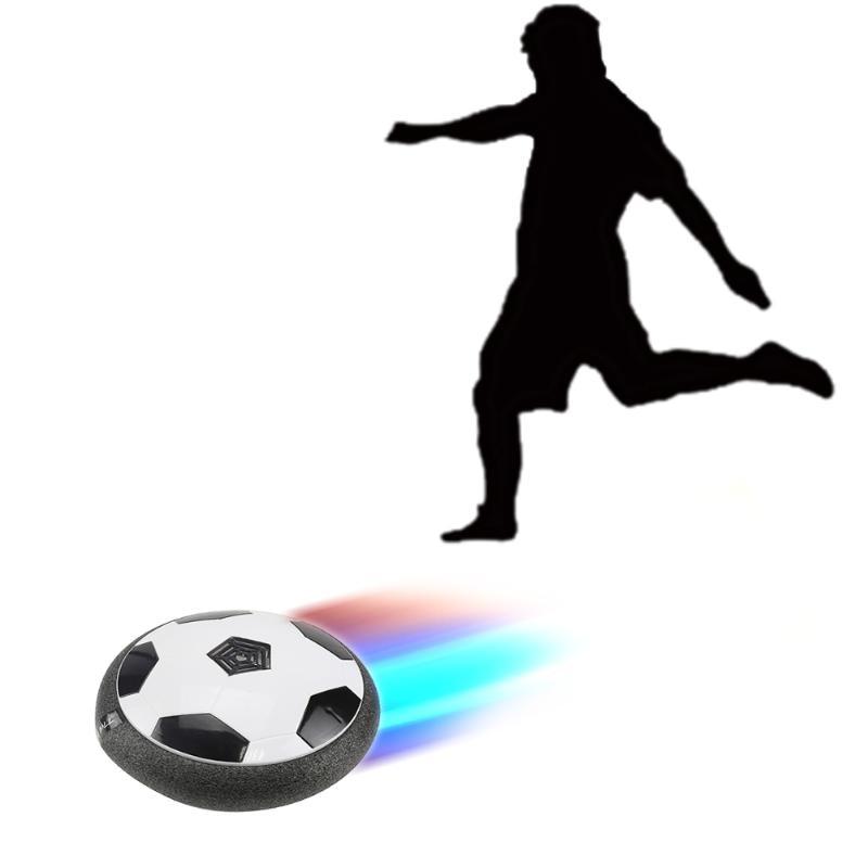 LED Light Flashing Ball Toys Air Power Soccer Balls Disc Gliding Multi-surface Hovering Football Game Kids Toy Children Gift