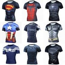 2019 Summer Men T-shirt Marvel Avengers Captain America 3D T shirt Short Sleeve Tshirt Cool Tees Breathable Tops цена в Москве и Питере