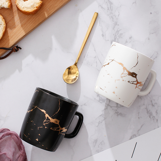 "HTB1 Z Tc6fguuRjSszcq6zb7FXaV.jpg 640x640 - tabletop-and-bar, drinkware - ""Le Royal"" Collection Marble Mug"