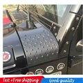 Plástico ABS de alta calidad negro Nuevo Estilo Durable Carenado Body Armor para Jeep JK Wrangler Rubicon Sahara/Ilimitado 2007-2016-Par