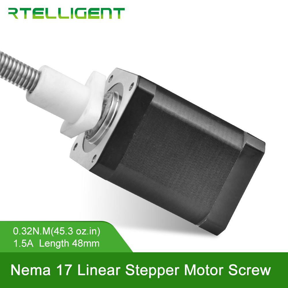 Factory Customized Nema 17 Linear Screw Stepper Motor Closed Loop Encoder Optional Suitable for Linear Drive of Stepper MotorFactory Customized Nema 17 Linear Screw Stepper Motor Closed Loop Encoder Optional Suitable for Linear Drive of Stepper Motor