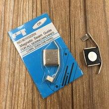 Pies de prensa de guía de costura magnética Universal, para máquinas de coser, manualidades, utensilio doméstico, 1 unids/lote