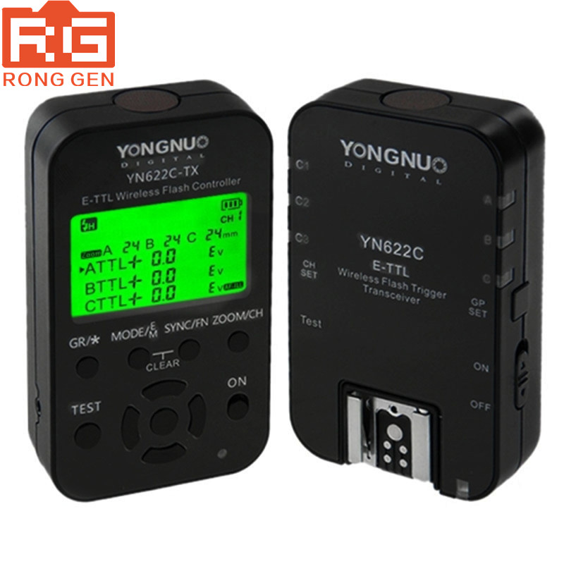 Original Yongnuo YN-622 TX YN 622C ETTL Flash Trigger With Transceivers For Canon Camera Wireless Triggers Flash Studio кеды studio 2 tx se