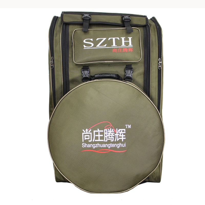 Image 5 - Large Capacity Fishing Bag waterproof Multifunctional Outdoor Tactical Backpack Trekking Sport Travel Camping Hiking Fishing Bag-in Fishing Bags from Sports & Entertainment