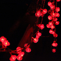 YINGTOUMAN 100m Lantern Type Christmas Holiday Festival Decoration Light Wedding Garden String Lights Outdoor Decorative Lamp