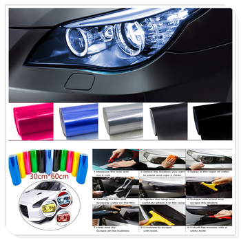 Car HeadLight Light Decor Vinyl Film Sticker Decal for Volkswagen VW polo passat b5 b6 CC golf jetta mk6 tiguan Gol image