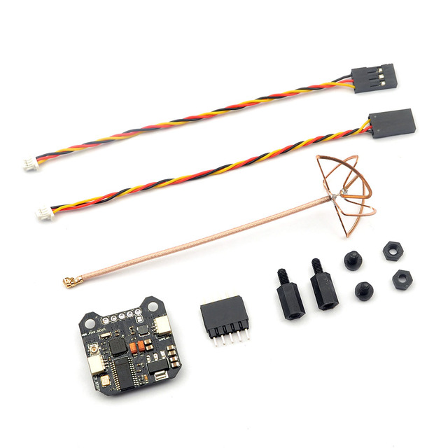 FPV PIKO INNOVA VTX-OSD 5.8G 25mw-200mw Mini Audio Video Transmitter ntegrated OSD RHCP For PIKO BLX flight control