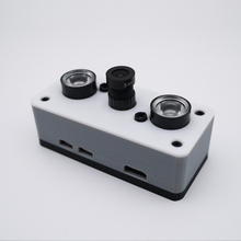 Raspberry Pi Zero W Kit 3D Print Case  + 5MP 70° Night Version Camera  + 32GB SD Card + Heat Sink + Power Adapter