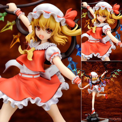 Touhou Project Sister of the Devil Flandre Scarlet 1/8 Complete Figure Collectible Model Toy 2016 new short bobo haircuts wigs silver white strike the blood date a live tobiichi origami touhou project youmu konpaku
