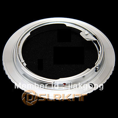Lens Mount Adapter Ring for Rollei QMB Lens to Canon EOS EF Adapter 500D 50D 5D 7D