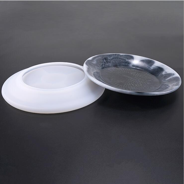 Silicone Jewelry Tool UV Resin Molds Dried Flower Silicone Jewelry Accessories Craft DIY Storage Dish
