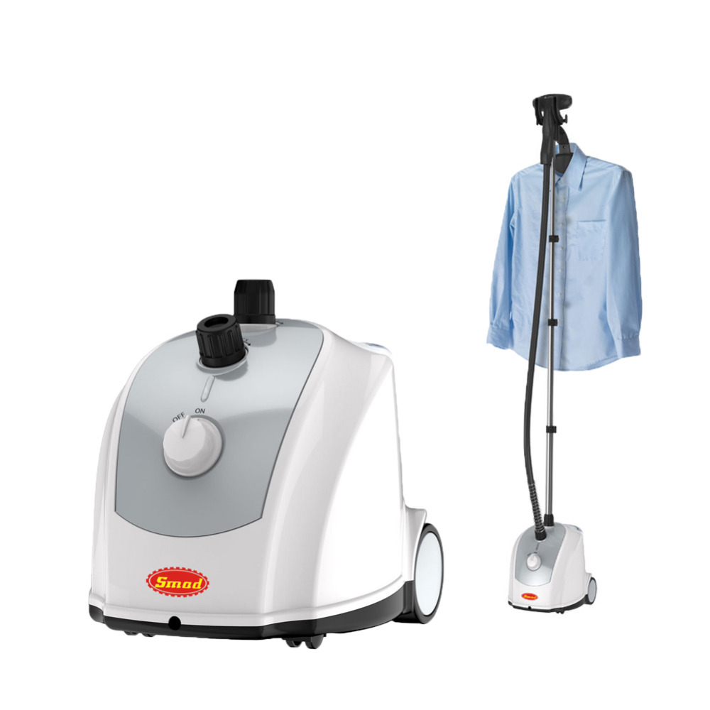 Smad 2017 Hot Sell 110V Garment Fabric Steamer Brush Portable Wrinkle Remove Nozzle Vertical Electric Steam Clothes Iron tuv approved garment steamer ironing for all types of fabric wrinkle odor dust and germs free