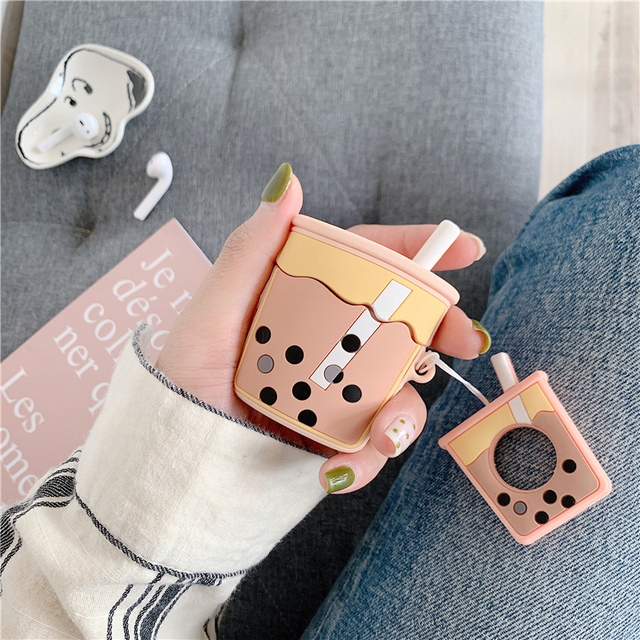 Milk Tea AirPod Case 1