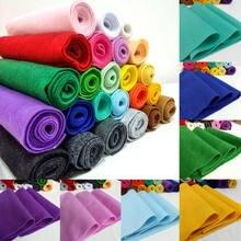 Tissu en feutre doux 20/90x90cm, feuille de tissu Non tissé, bricolage poupées à coudre, matériel artisanal 1.4mm d'épaisseur