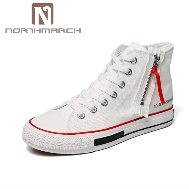 Chaussures Hommes Vente Chaude Toile Hommes Mode Casual Northmarch Nouvelle wapX7Eq1
