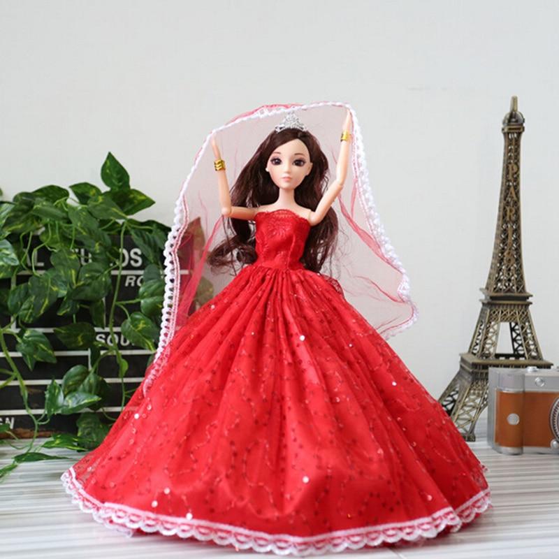 Simulation 3D oeil mariage de mariage confus poupée opp emballage - Poupées et accessoires - Photo 4