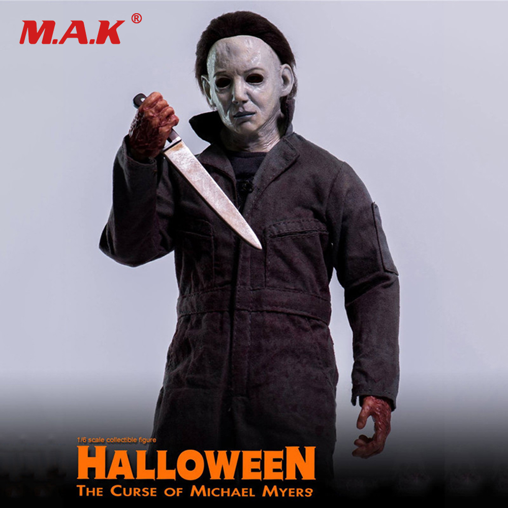 1:6 Scale Curse of Michael Myers Collection Action Figure Doll Model Toys 1 6 scale ancient figure doll gerard butler sparta 300 king leonidas 12 action figures doll collectible model plastic toys