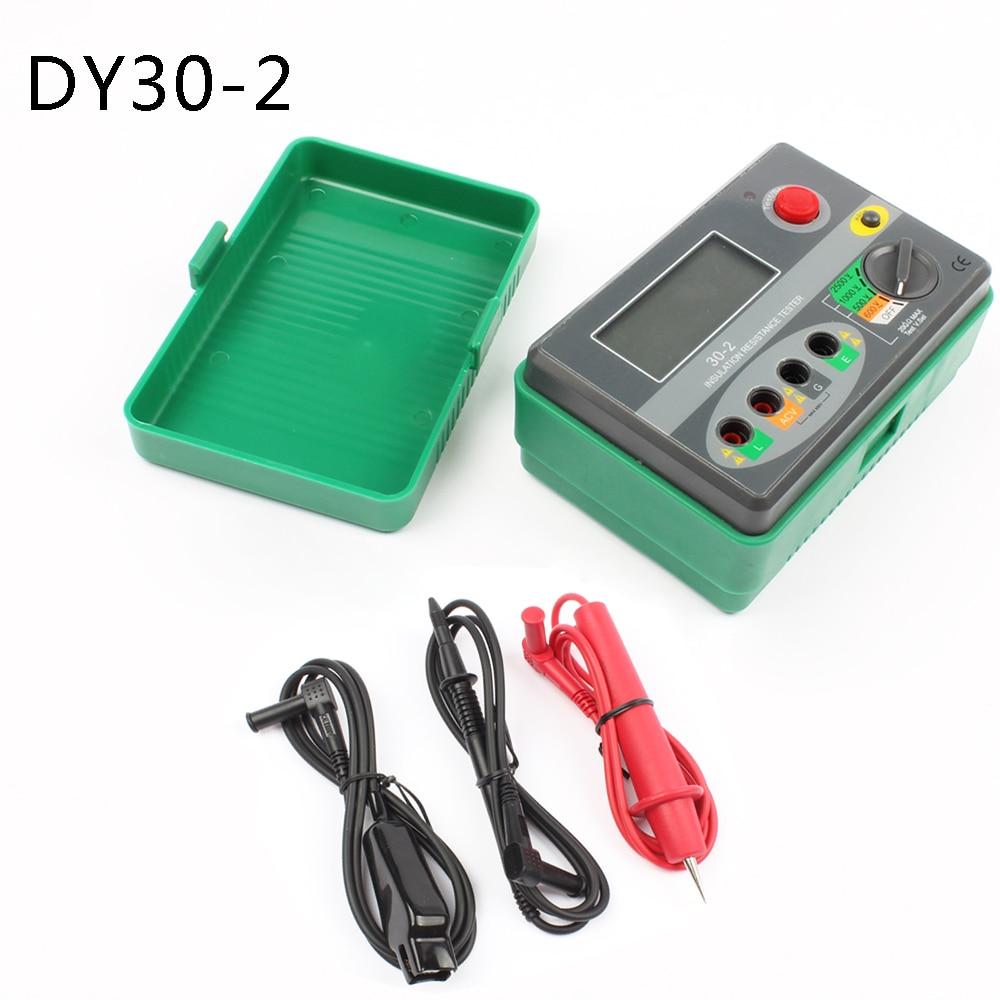 DY30 2 2500V 20G ohm Digital Insulation Resistance Tester Megohmmeter tester meter