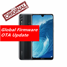 Küresel Rom Onur 8X Max 6 GB 64 GB Telefon Snapdragon 660 7.12 ''Büyük Ekran OTA Güncelleme 4900 mAh LTE Android 8.1 Octa Çekird...