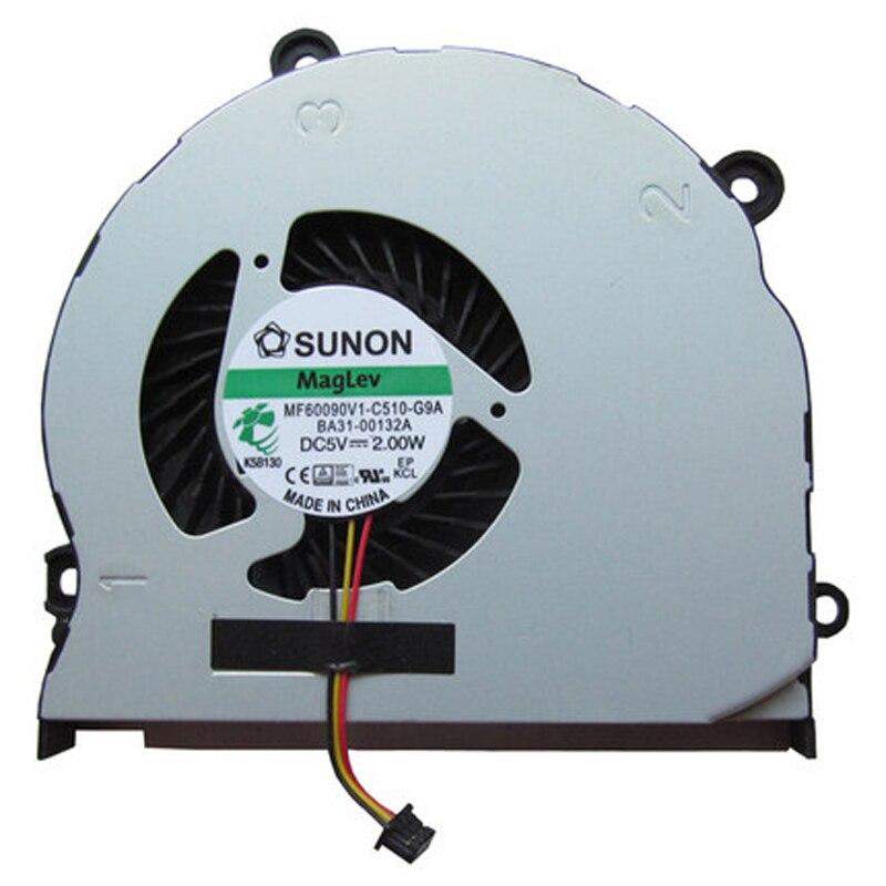 New Cpu Cooling Fan For SAMSUNG NP355 NP355V4X NP355V4C NP350V5C NP355E4C 355V5C MF60090V1-C510-G9A BA31-00132A AB08005HX10K300