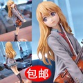 20CM Your Lie in April Figure Arima Kousei Miyazono Kaori Figure Violin Uniforms PVC Action Figure Model Toys Colltection Gift