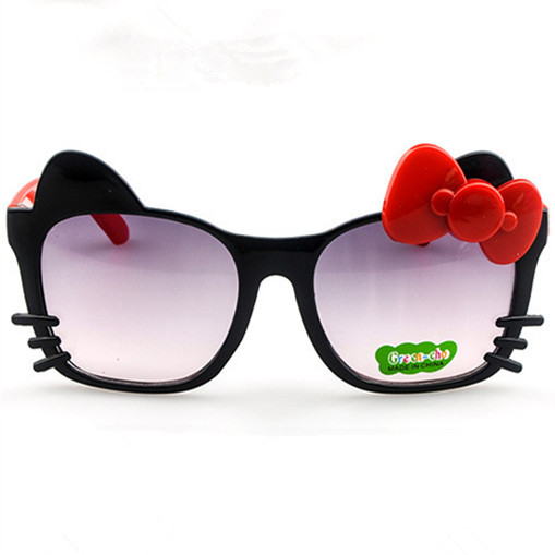 c02e6dbc2b1c Summer style New arrival High quality fashion cute baby Hello-Kitty glasses  kids sunglasses Wholesale